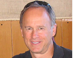 Dan Wiseman, uno dei nostri primi studenti, in mensa